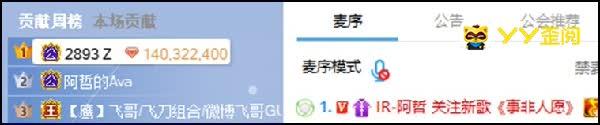 神豪Z哥为阿哲歌曲14万秒榜